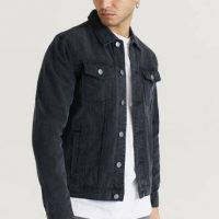 Studio Total Jeansjakke Favourite Denim Jacket Svart