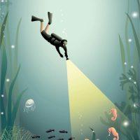 ViSSEVASSE Poster The Diver 50x70