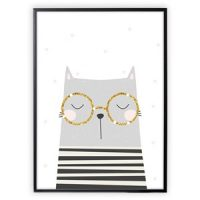 XO Posters Poster Cat 30x40 cm