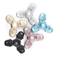 Zinc Alloy Tri-Spinner Multi-Color Rotating Fidget Hand Spinner ADHD Autism Reduce Stress Toys