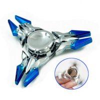 Zinc Alloy Tri-Spinner Rotating Fidget Hand Spinner ADHD Autism Fingertips Reduce Stress Toys