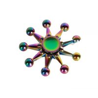 Zinc Ally Night leaves Rotating Fidget Hand Spinner ADHD Autism Reduce Stress Focus Attention Toys