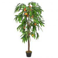 vidaXL Kunstig mangotre med potte grønn 150 cm