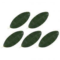 vidaXL Kunstige banantreblader 5 stk grønn 80 cm