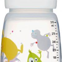 2B Baby Tåteflaske Babblarna 310 ml, Hvit