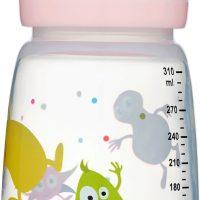 2B Baby Tåteflaske Babblarna 310 ml, Rosa