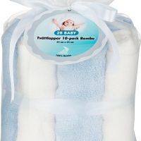 2B Baby Vaskekluter Bambus 10-pack, Blå