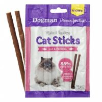 3pk Cat Sticks til katt med Laks&Ørret