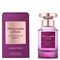 Abercrombie & Fitch Authentic Night Eau De Parfum 50ml