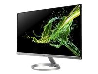 Acer R270U smipx - LED-skjerm - 27 - 2560 x 1440 WQHD @ 75 Hz - IPS - 350 cd/m² - 1000:1 - 1 ms - HDMI, DisplayPort - høyttalere - svart, sølv