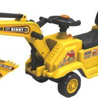 Alex Garage Gåbil Traktor med Grabb