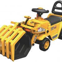 Alex Garage Gåbil Traktor med Griplaster