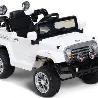 Alex's Garage Elbil Jeep, Hvit