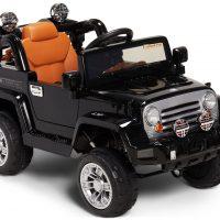 Alex's Garage Elbil Jeep, Svart