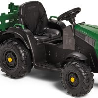 Alex's Garage Elbil Traktor, Grønn