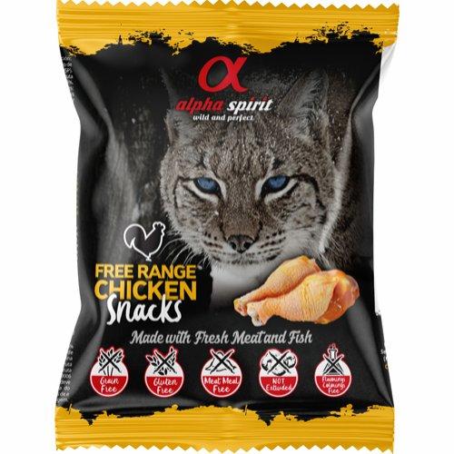 AlphaSpirit kylling kattesnacks