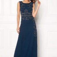 AngelEye Decorative Sequin Dress Navy XS (UK8)