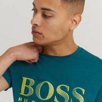 BOSS T-Shirt RN Logo Grønn