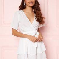 BUBBLEROOM Amra Dress White 42