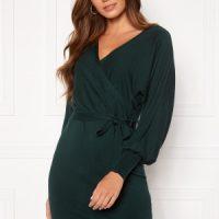 BUBBLEROOM Hannie knitted dress Dark green XS