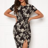 BUBBLEROOM Jill dress Black / Beige M