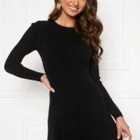 BUBBLEROOM Sally knitted dress Black L