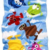 Babblarna Badehåndkle, Himmel