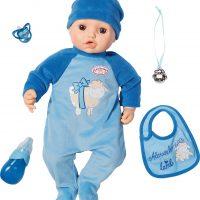 Baby Annabell Interaktiv Dukke Alexander, 43 cm