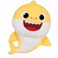 Baby Shark Kosedyr Med Lyd Baby Shark 37 cm, Gul