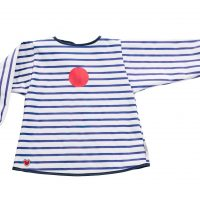 Baby to love Smekke Med Ermer, Blue Stripes