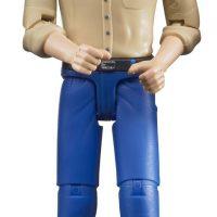 Bruder Figur Med Blå Jeans