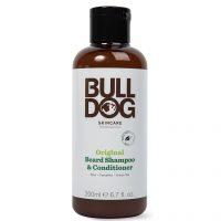 Bulldog Original Beard Shampoo & Conditioner, 200 ml Bulldog Skjeggshampoo & Skjeggbalsam