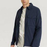 Calvin Klein Overshirt Light Shirt Jacket Blå