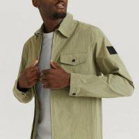 Calvin Klein Overshirt Light Shirt Jacket Grønn