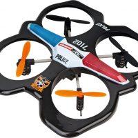Carrera Quadrocopter Police Drone og Kontroll