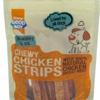 Chewy Chicken Strips - Kyllingstrips for hund
