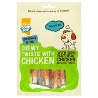 Chewy twist kyllingsnacks for hund