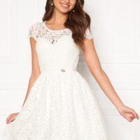 Chiara Forthi Guidia lace dress White 44