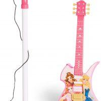 Cloudberry Castle Elgitar Og Mikrofon Prinsesse