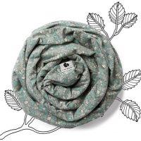Coracor Bæresjal Tiny Flower, Green