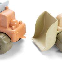 Dantoy BIOplastic Bulldozer Og Lastebil