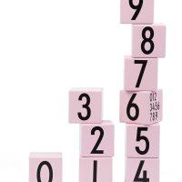 Design Letters Klosser 0-9, Rosa