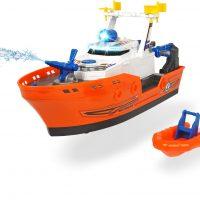 Dickie Toys Redningsbåt Havn