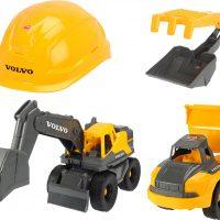 Dickie Toys Volvo Lekesett Med 2 Arbeidskjøretøy