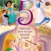 Disney Prinsesser 5 Minutters Historier Bok