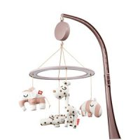 Done by Deer Musical Mirror Mobile Sleepy Powder One Size