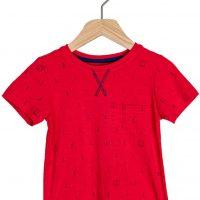 Ebbe Boston T-Skjorte, Blue Anchors 98