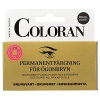Eyebrow Colour, 8 ml Coloran Øyenbrynsfarge & Trimmers