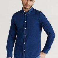 Filippa K Skjorte M. Lewis Chambray Shirt Blå