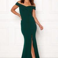 Goddiva Sweetheart Maxi Dress Emerald XXL (UK16)